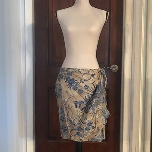BEAUTIFUL, FULLY LINED, WRAP SKIRT